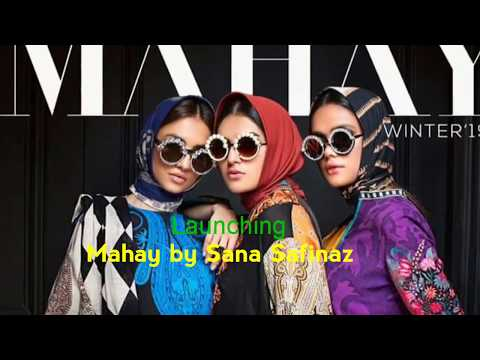 Mahay | Winter | Sana Safinaz | 2019|2020|Launching | Fabric |Live Video |Full Collection