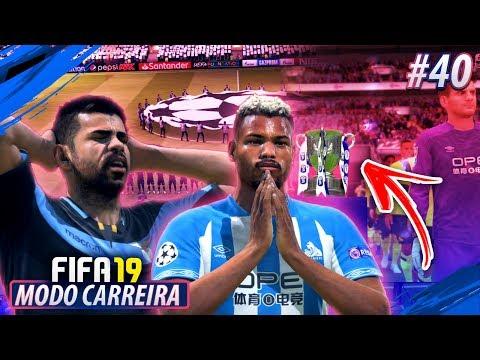 Quem CHEGOU nas QUARTAS DA CHAMPIONS?! FIFA 19 MODO CARREIRA #40