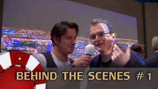 Behind The Scenes #1 - Let's Play Poker - Charity Poker 23.03.2013