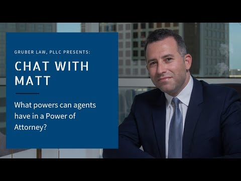 video thumbnail What powers can agents have in a Power of Attorney?
