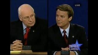 2004 VP Debate: John Edwards brings up Dick Cheney's Gay Daughter