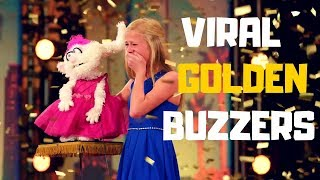 """Top 5 VIRAL """"GOLDEN BUZZERS"""" AUDITIONS EVER ON America"""