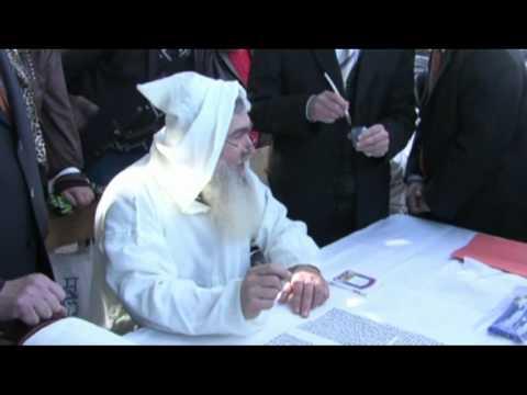 Caso sulla strada per un martello Torah