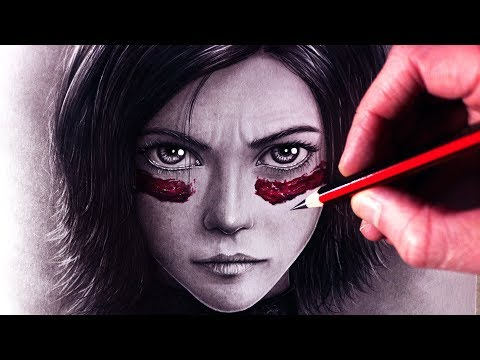 Let's Draw ALITA: BATTLE ANGEL - FAN ART FRIDAY