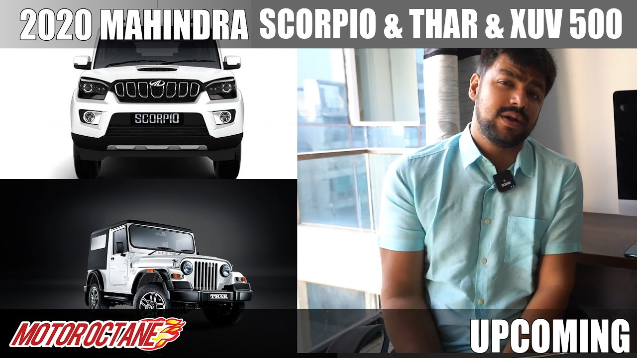 Motoroctane Youtube Video - 2020 Mahindra Scorpio & Thar & XUV500 | Hindi | MotorOctane