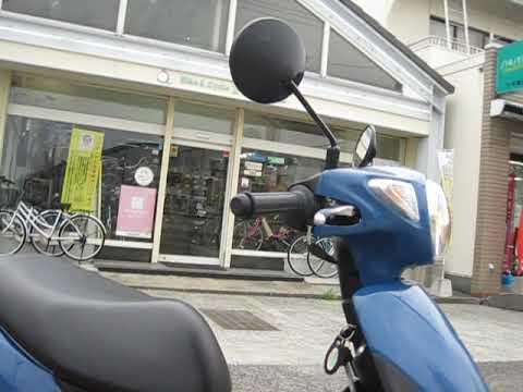 レッツ(4サイクル)/スズキ 50cc 徳島県 Bike & Cycle Fujioka