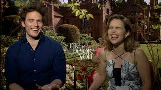 Emilia Clarke and Sam Claflin interview - ME BEFORE YOU, GAME OF THRONES