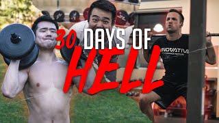30 DAYS OF HELL FITNESS CHALLENGE - Full Documentary #TNDO