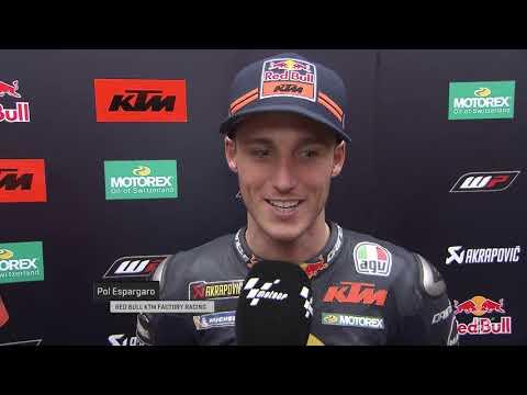 Red Bull KTM Factory Team on the myWorld Motorrad Grand Prix von Österreich