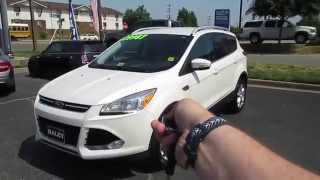 2015 Ford Escape Titanium FWD Walkaround, Start up, Tour and Overview