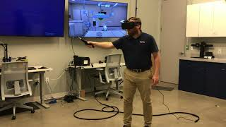 Operating Walkthrough - VR Lab
