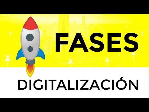 Etapas De La Transformación Digital  - Digitalización