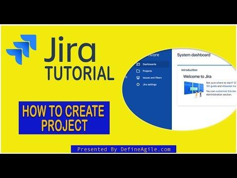 How to Create Project in Jira - Jira Basics Training [2020] - YouTube
