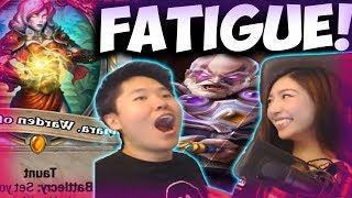 FATIGUE PRIEST DESTROYS EVENLOCK AND BIG SPELL MAGE | THE WITCHWOOD | XCHOCOBARS | DISGUISED TOAST