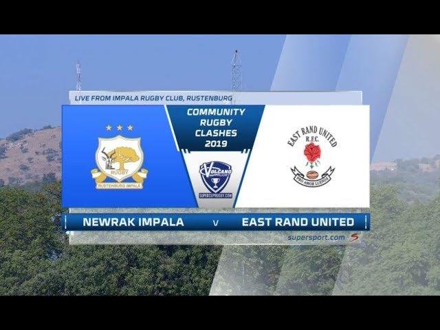 Community Rugby Clash | Newrak Impala vs East Rand United