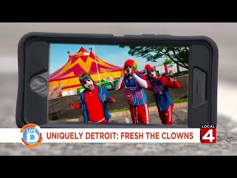 Live in the D: Uniquely Detroit - Fresh the Clowns