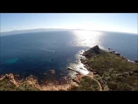 """Ein wahres Naturparadies sind die vier kleinen """"Îles Sanguinaires"""" am Eingang des Golfe d'Ajaccio im Westen Korsikas."""