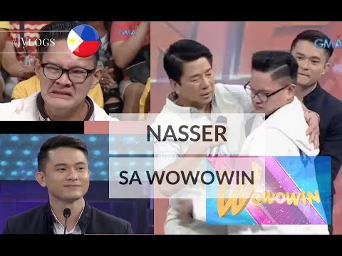 #JVlog BALIK PINAS! Nasser at WOWOWIN! FULL GUESTING VIDEO!
