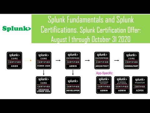 Splunk Fundamentals and Splunk Certifications // Splunk ... - YouTube