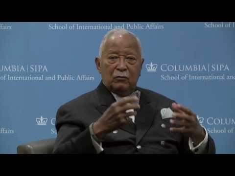 A Mayor's Life -- Conversation with Former NYC Mayor Dave Dinkins