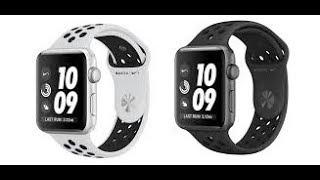 Apple Watch series 3 42M Nike+ Aluminium space grey model