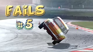 Racing Games FAILS Compilation #5