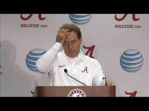 Nick Saban's full press conference after Alabama beat LSU