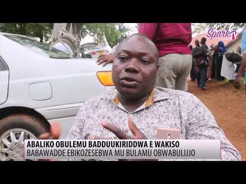 Abaliko obulemu baddukiriddwa nebikozesebwa mu Wakiso
