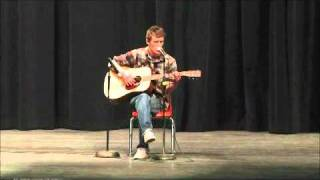 (cover) Bob Dylan-It's alright ma(Im only bleeding)-Live at talent show