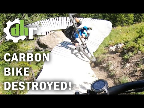 How To Break a Carbon Frame - and Almost Two