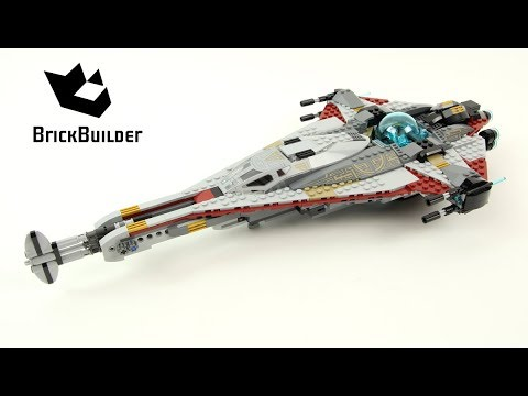Vidéo LEGO Star Wars 75186 : The Arrowhead