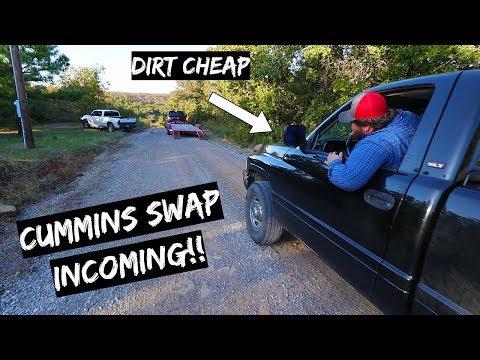 We Bought a Dirt Cheap Truck + Cummins Swap Incoming!!!