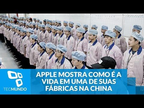 Apple finalmente mostra como é a vida em uma de suas fábricas na China