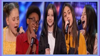 TOP 5 KID SINGER AUDITIONS ON America's Got Talent 2020!