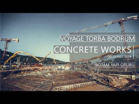 Voyage Torba Bodrum - Concrete works