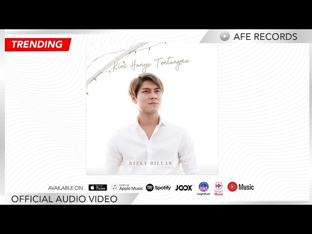 Rizky Billar - Kini Hanya Tentangmu (Official Audio Video)