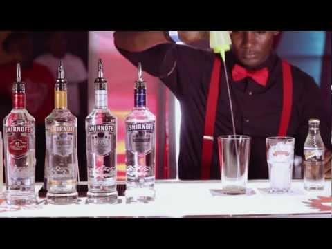 Smirnoff Cocktail – Midnight Blue