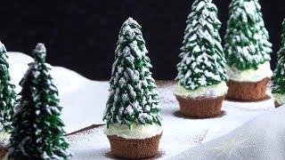 """Новогодние Кексы """"Елочки"""": Самый Праздничный Рецепт. Загляденье!"""