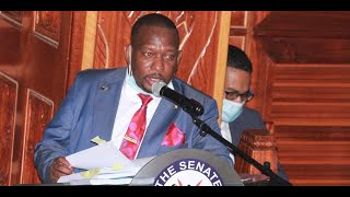 BREAKING NEWS: Senate upholds Governor Mike Sonko's impeachment : 27 Yes, 16 No , 2 Absatain