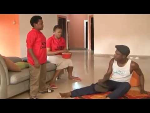 Nkem Owoh (Osuofia) Boxing with Edu Ekeh