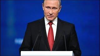 Выступление Владимира Путина на пленарном заседании ПМЭФ-2018. Прямой эфир