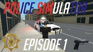 Roblox gameplay || NYC police sim #8 - Mlg gamer78123