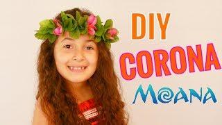DIY CORONA DE FLORES | MOANA | SUSANA ORTIZ