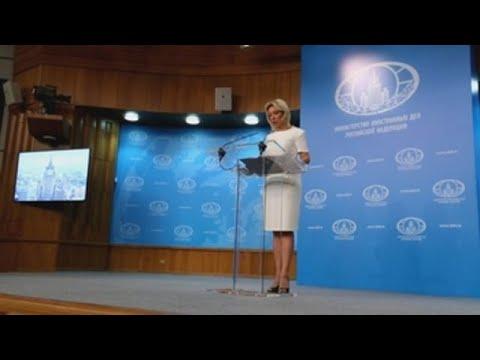 """Rusia dice que las acusaciones de injerencia """"ridiculizan"""" a EEUU"""
