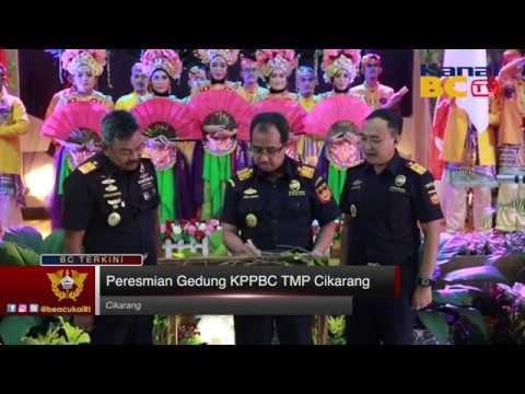 Peresmian Gedung KPPBC TMP Cikarang