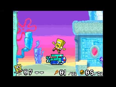 Gameboy Advance Longplay - SpongeBob SquarePants - Battle for Bikini Bottom Part.6