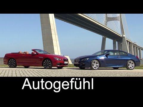 2016 BMW 650i Coupé & BMW 650i Convertible 6-Series Facelift exterior/interior preview - Autogefühl