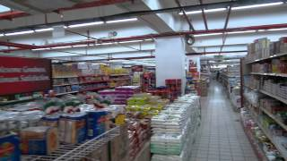 preview picture of video 'Supermarket in Malaysia, Langkawi, Kuah Town'