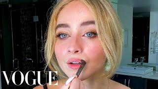 Sabrina Carpenter's Guide to DIY Facials and Perfect Eyeliner | Beauty Secrets | Vogue