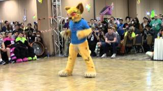 Ruby - BLFC 2014 Fursuit Dance Competition
